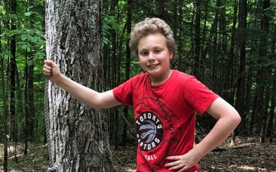 Leading by example: 13 year old Evan Cukier supports Empowerment Squared programs